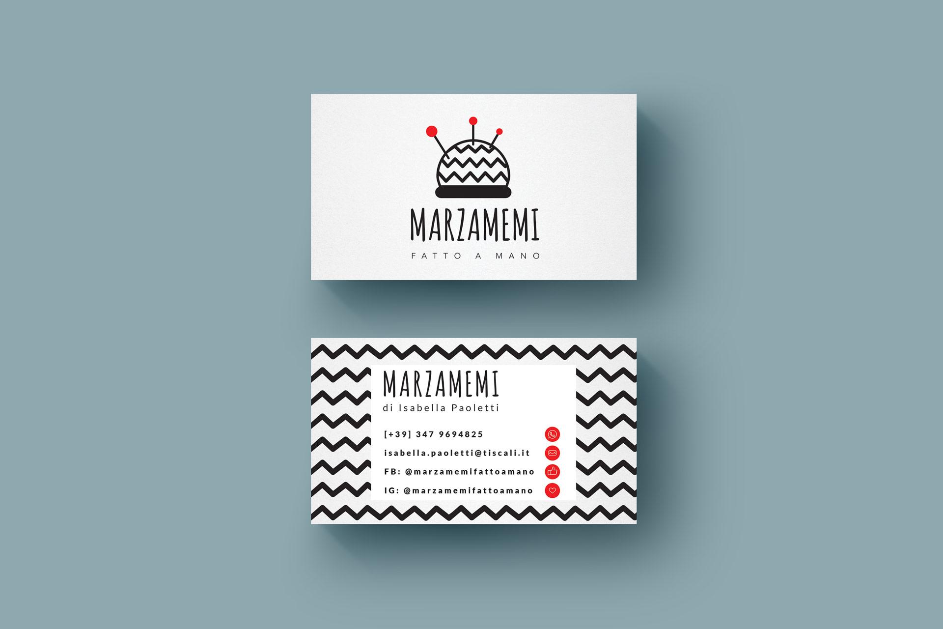 Marzamemi business cards